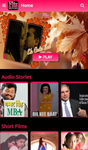 fliz movies app